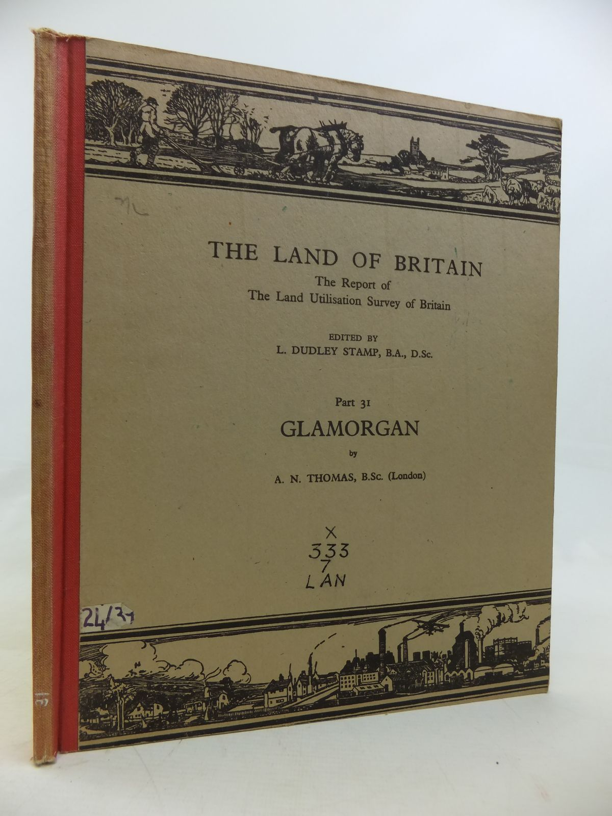 Photo of THE LAND OF BRITAIN PART 31 GLAMORGAN written by Thomas, A.N.<br />Stamp, L. Dudley published by Geographical Publications Ltd (STOCK CODE: 2115835)  for sale by Stella & Rose's Books