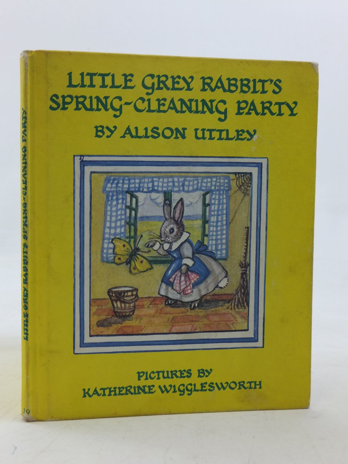 Photo of LITTLE GREY RABBIT'S SPRING-CLEANING PARTY written by Uttley, Alison illustrated by Wigglesworth, Katherine published by Collins (STOCK CODE: 2115848)  for sale by Stella & Rose's Books