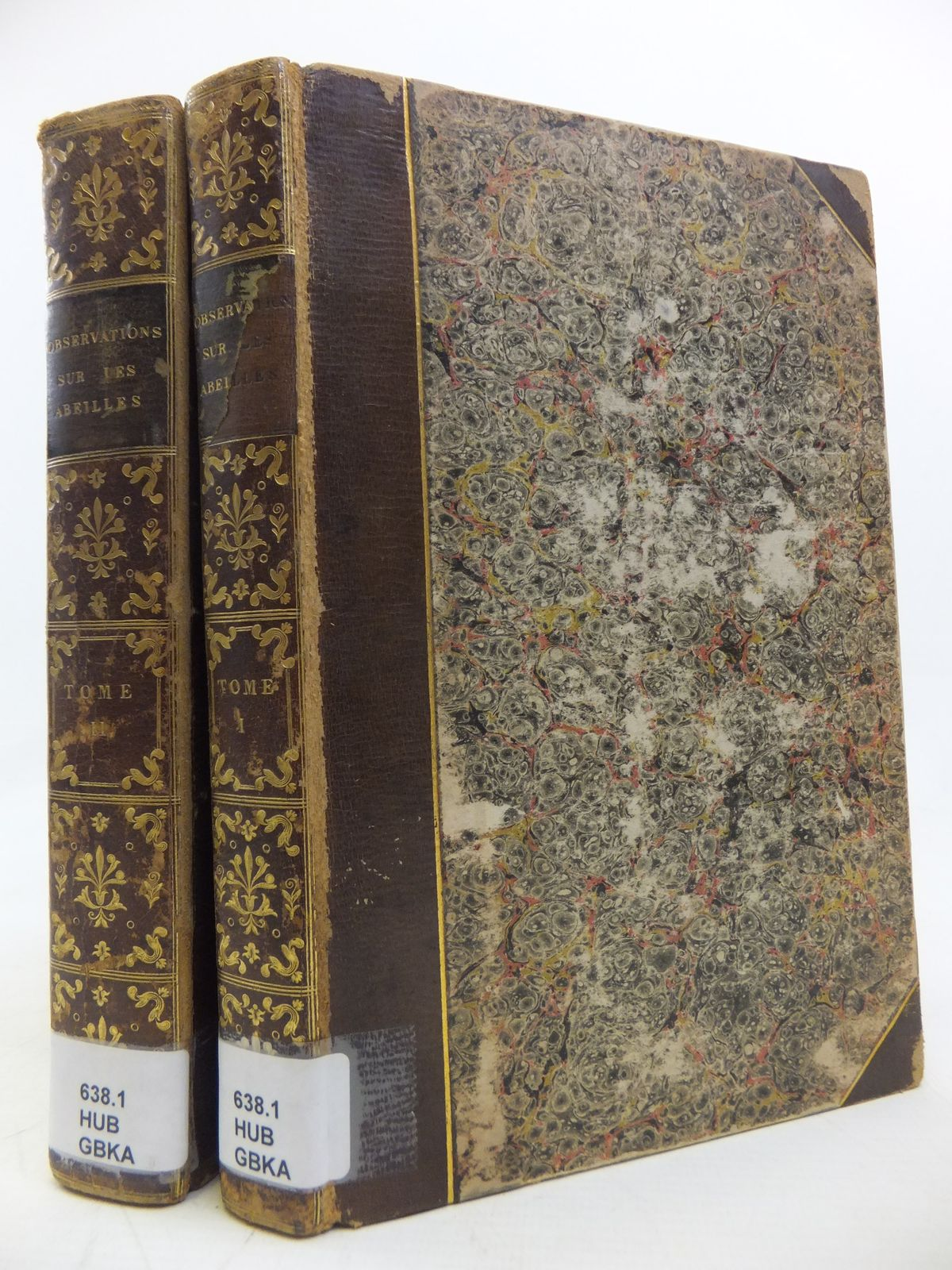 Photo of NOUVELLES OBSERVATIONS SUR LES ABEILLES (DEUX VOLUMES) written by Huber, Francois published by J.J. Paschoud (STOCK CODE: 2115871)  for sale by Stella & Rose's Books