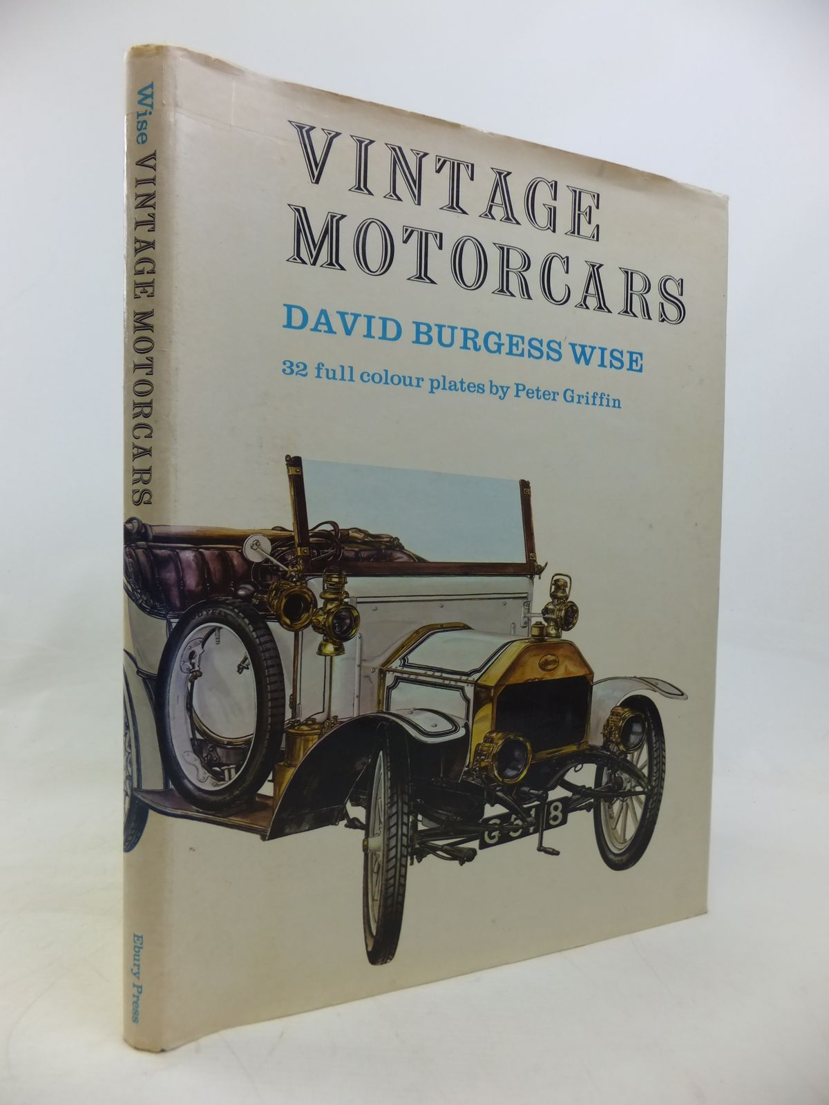 Photo of VINTAGE MOTORCARS written by Wise, David Burgess illustrated by Griffin, Peter published by Ebury Press (STOCK CODE: 2115885)  for sale by Stella & Rose's Books