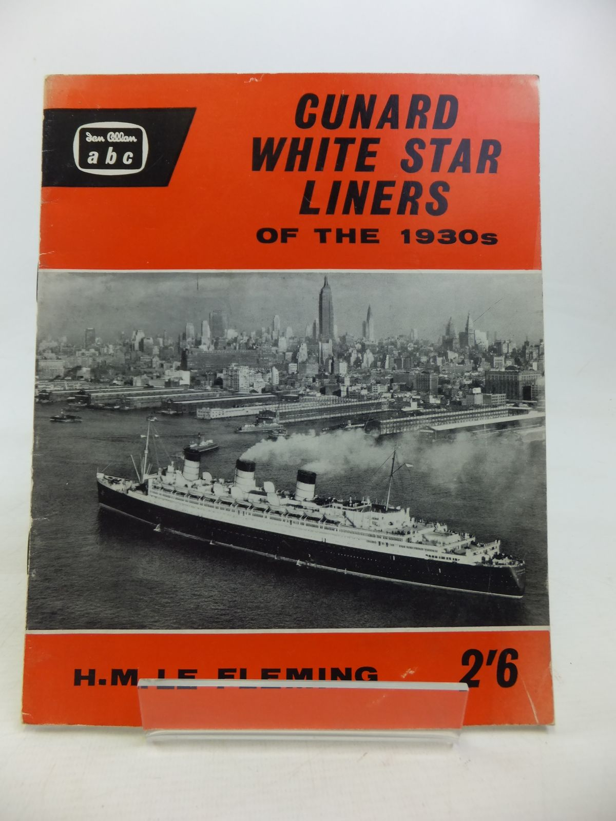 Photo of CUNARD WHITE STAR LINERS OF THE 1930S written by Le Fleming, H.M. published by Ian Allan Ltd. (STOCK CODE: 2115897)  for sale by Stella & Rose's Books