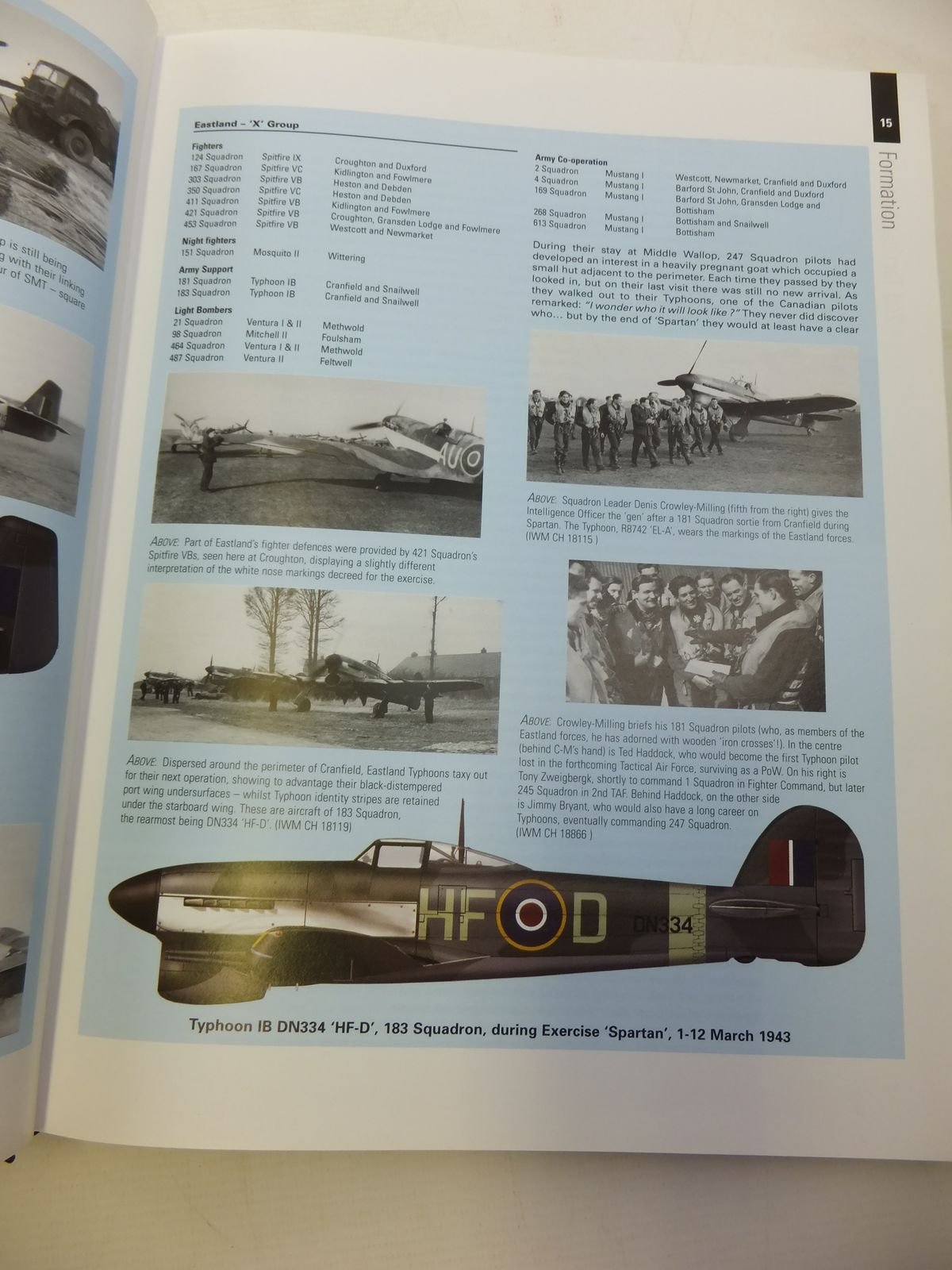 Photo Of 2ND TACTICAL AIR FORCE VOLUME ONE SPARTAN TO NORMANDY JUNE 1943 1944