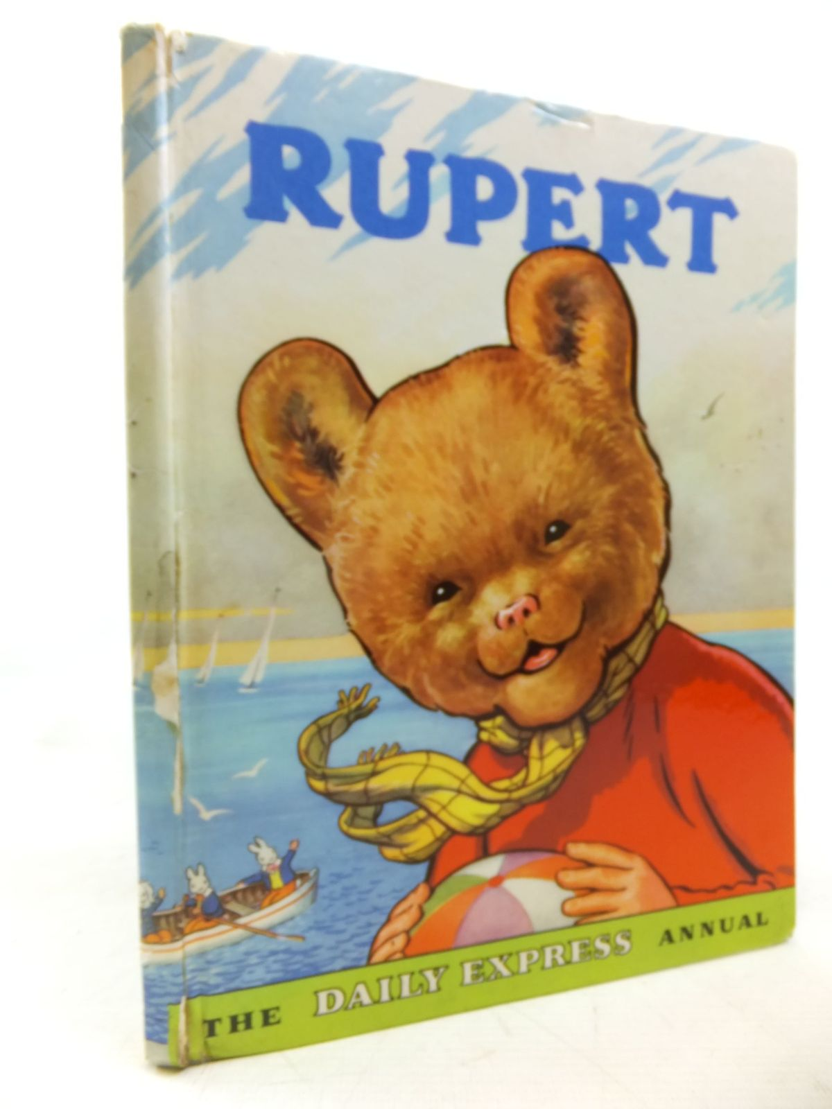Photo of RUPERT ANNUAL 1959 written by Bestall, Alfred illustrated by Bestall, Alfred published by Daily Express (STOCK CODE: 2116138)  for sale by Stella & Rose's Books