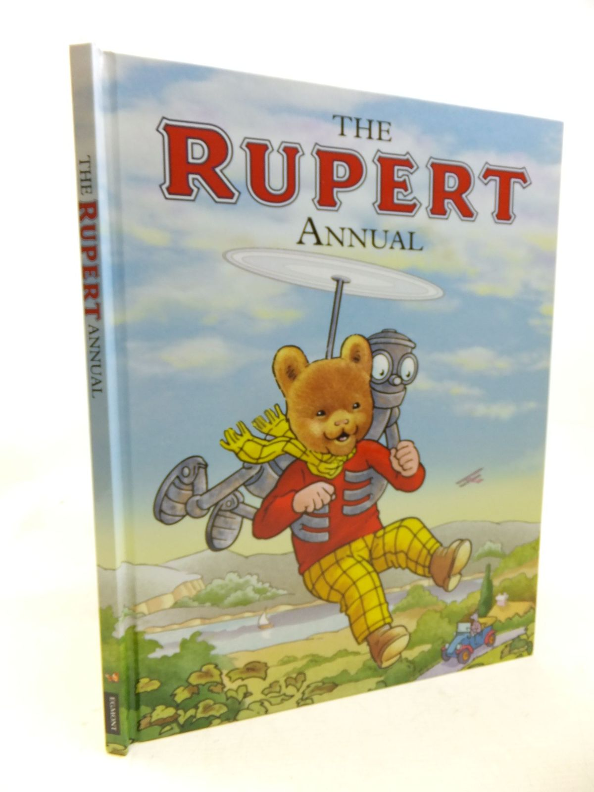 Photo of RUPERT ANNUAL 2011 written by Bestall, Alfred<br />Harwood, Beth illustrated by Bestall, Alfred<br />Trotter, Stuart published by Egmont Uk Limited (STOCK CODE: 2116147)  for sale by Stella & Rose's Books