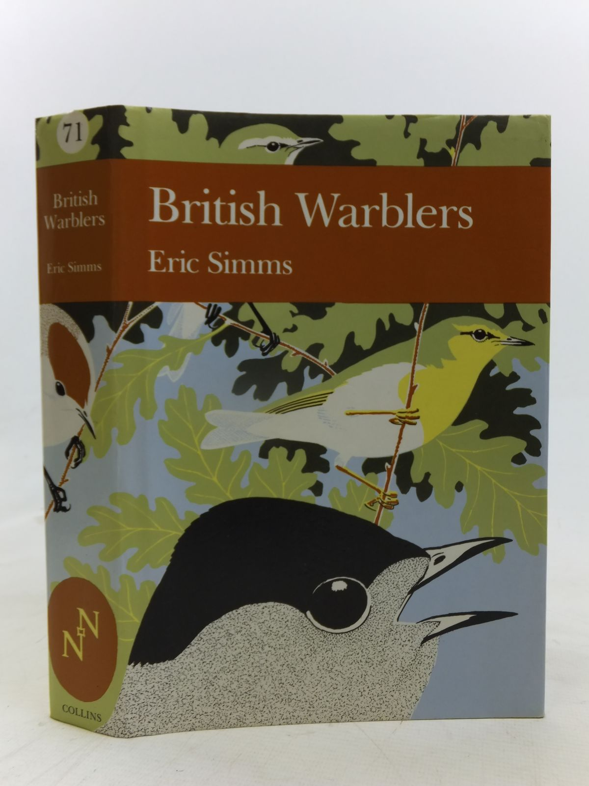 Photo of BRITISH WARBLERS (NN 71) written by Simms, Eric published by Collins (STOCK CODE: 2116219)  for sale by Stella & Rose's Books