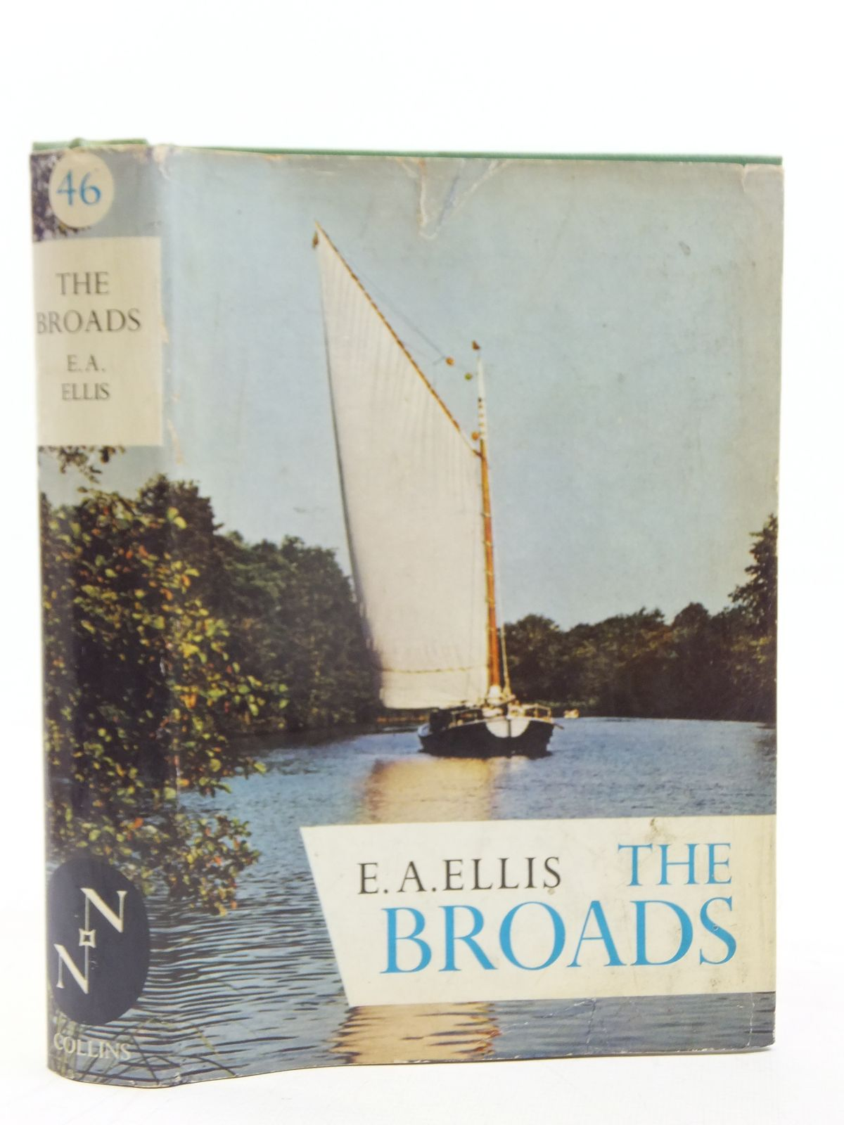 Photo of THE BROADS (NN 46) written by Ellis, E.A. published by Collins (STOCK CODE: 2116230)  for sale by Stella & Rose's Books