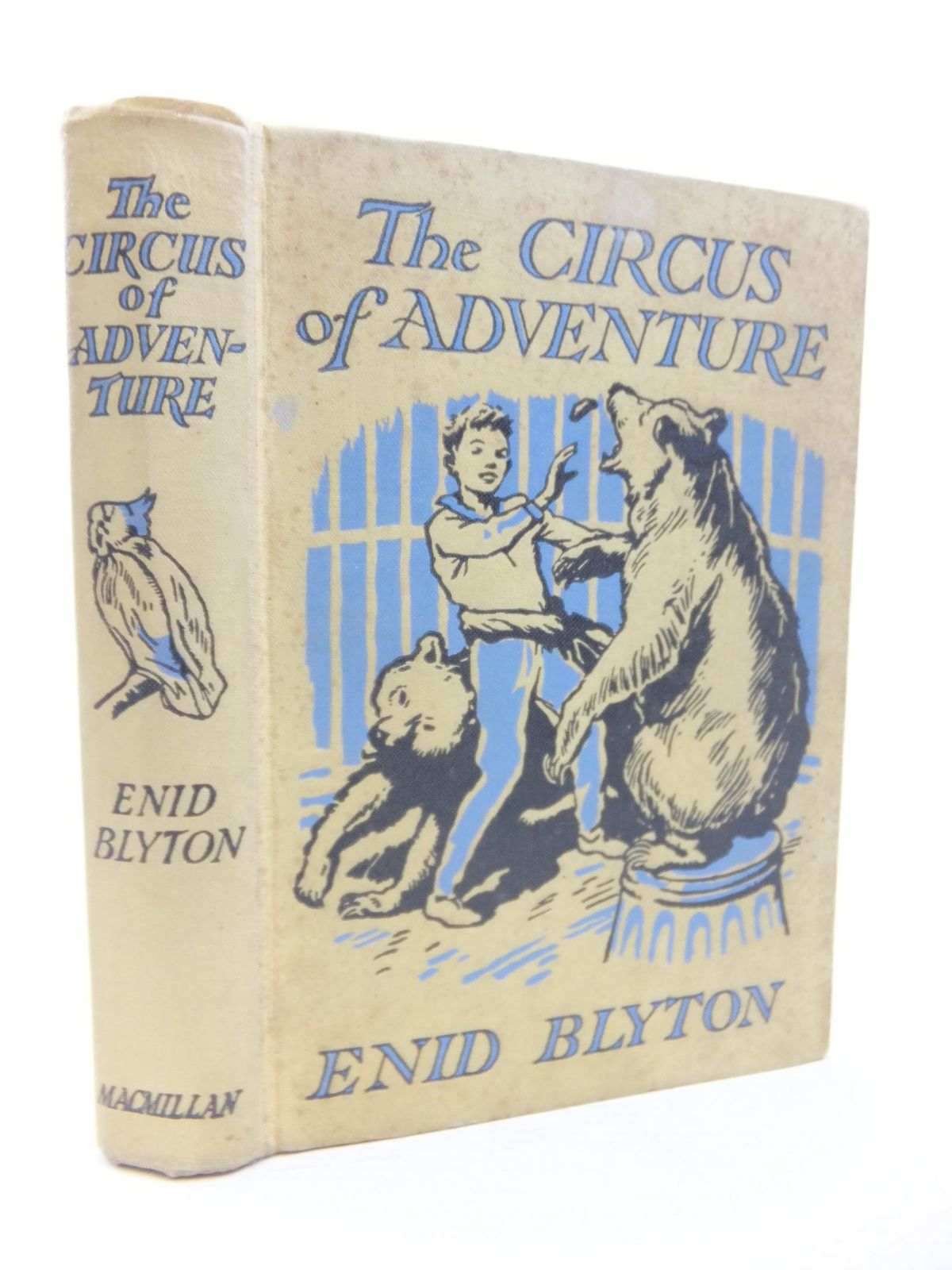 Photo of THE CIRCUS OF ADVENTURE written by Blyton, Enid illustrated by Tresilian, Stuart published by Macmillan & Co. Ltd. (STOCK CODE: 2116393)  for sale by Stella & Rose's Books