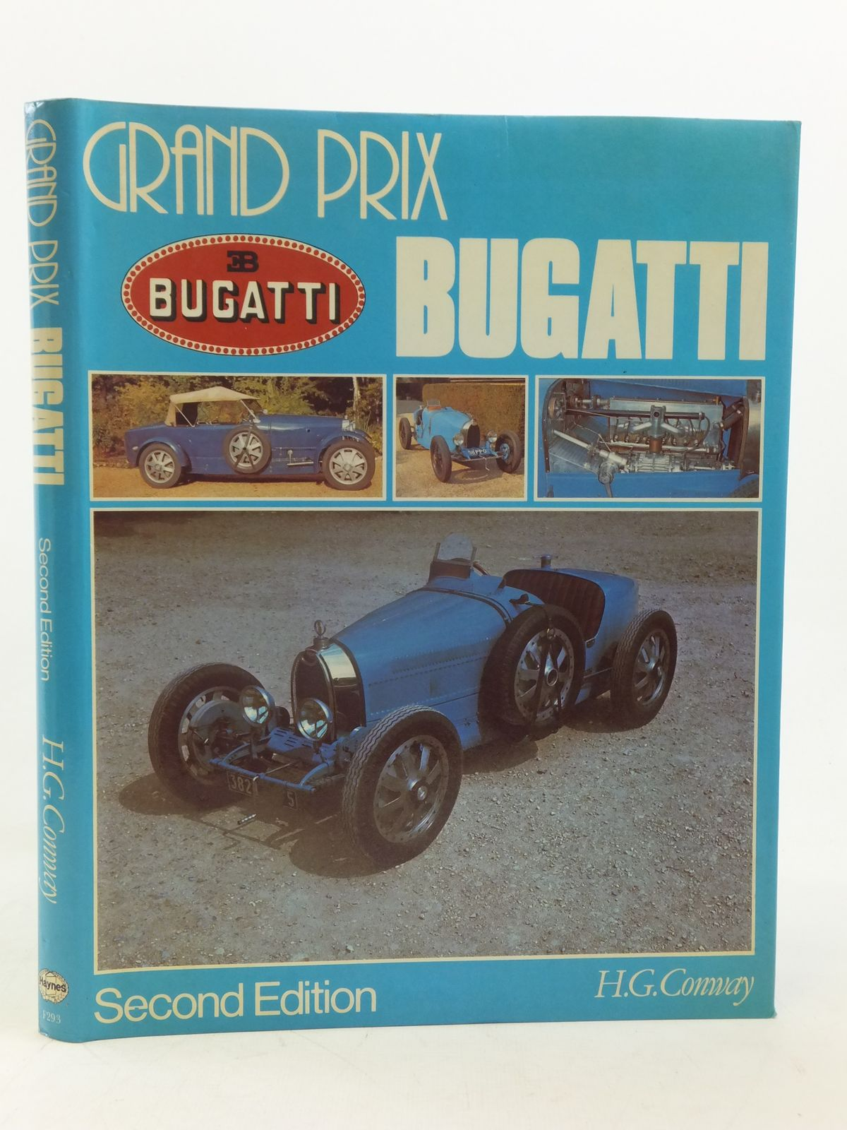 grand prix bugatti written by conway h g stock code 2116418 stella rose 39 s books. Black Bedroom Furniture Sets. Home Design Ideas