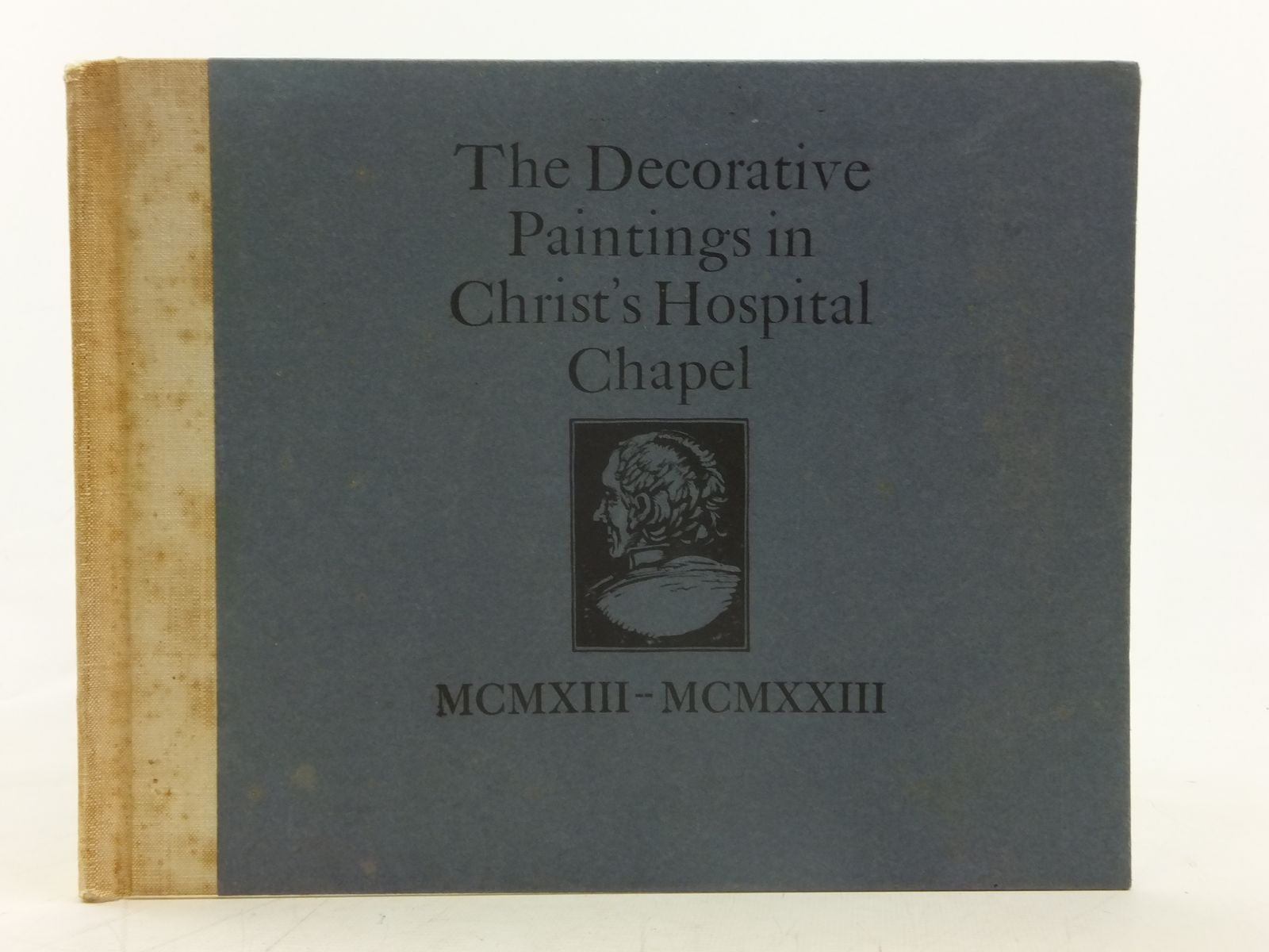 Photo of THE DECORATIVE PAINTINGS IN CHRIST'S HOSPITAL CHAPEL MCMXIII - MCMXXIII written by Macklin, W.R.<br />Rigby, H.A. illustrated by Macklin, W.R.<br />Rigby, H.A. published by St. Dominic's Press (STOCK CODE: 2116553)  for sale by Stella & Rose's Books
