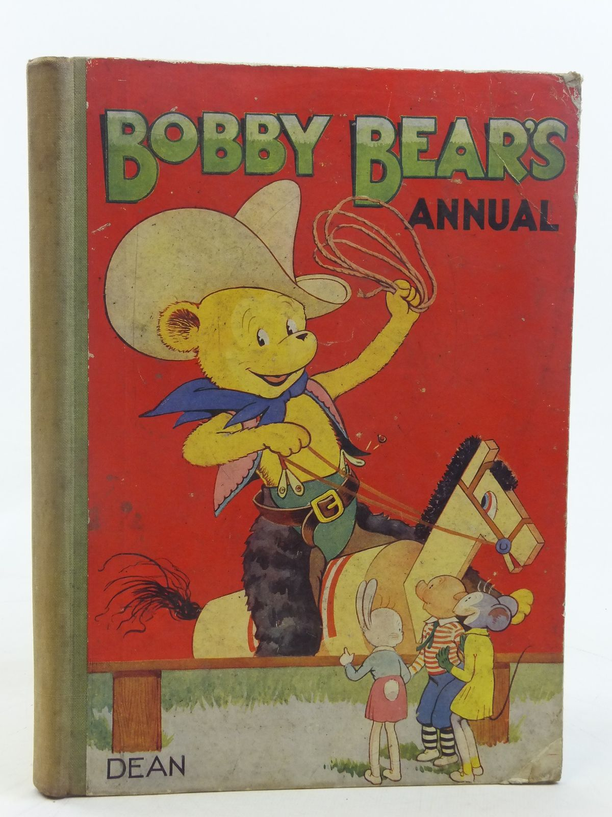 Photo of BOBBY BEAR'S ANNUAL 1952 written by Groom, Arthur<br />et al,  published by Dean & Son Ltd. (STOCK CODE: 2116563)  for sale by Stella & Rose's Books