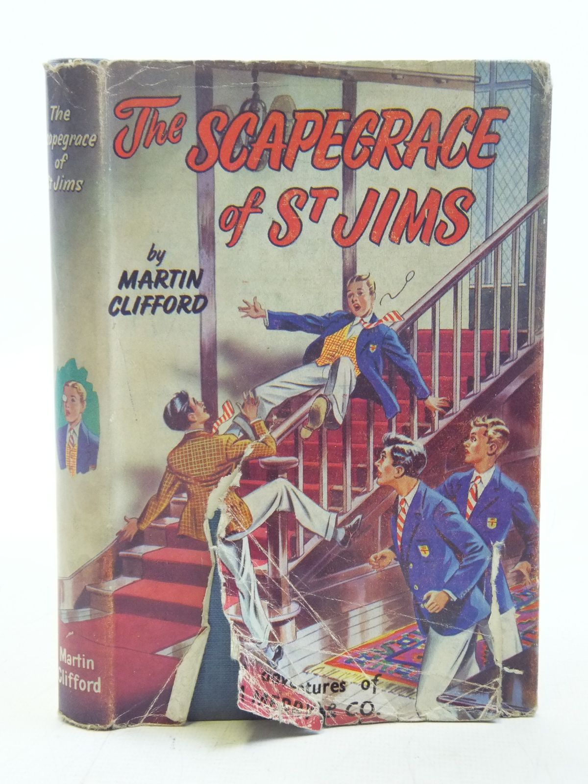 Photo of THE SCAPEGRACE OF ST. JIMS written by Clifford, Martin<br />Richards, Frank published by Spring Books (STOCK CODE: 2116566)  for sale by Stella & Rose's Books