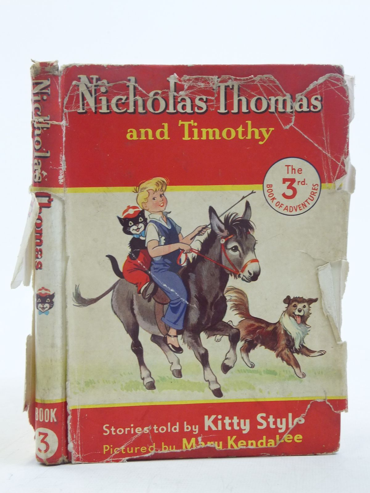 Photo of NICHOLAS THOMAS AND TIMOTHY No. 3 written by Styles, Kitty illustrated by Lee, Mary Kendal published by Sampson Low, Marston & Co. Ltd. (STOCK CODE: 2116574)  for sale by Stella & Rose's Books