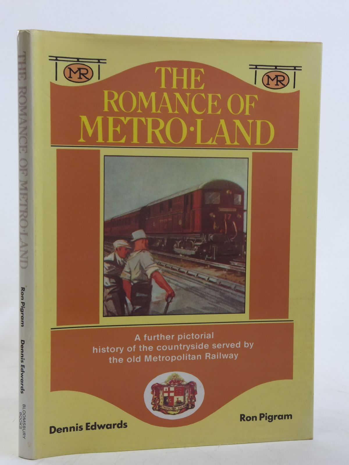 Photo of THE ROMANCE OF METRO-LAND written by Edwards, Dennis F.<br />Pigram, Ron published by Bloomsbury Books (STOCK CODE: 2116608)  for sale by Stella & Rose's Books