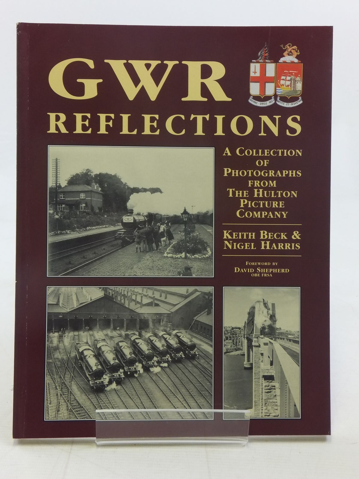 Photo of GWR REFLECTIONS written by Beck, Keith M.<br />Harris, Nigel published by Silver Link Publishing (STOCK CODE: 2116611)  for sale by Stella & Rose's Books