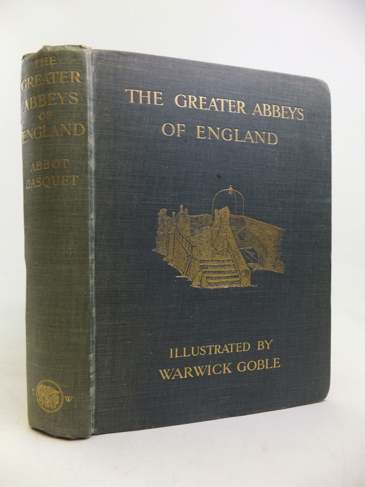 Photo of THE GREATER ABBEYS OF ENGLAND written by Gasquet, Abbot illustrated by Goble, Warwick published by Chatto & Windus (STOCK CODE: 2116754)  for sale by Stella & Rose's Books