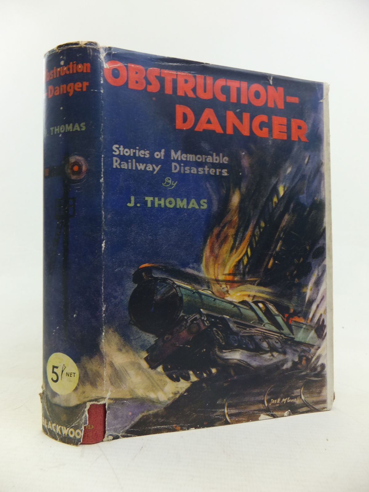Photo of OBSTRUCTION - DANGER written by Thomas, John published by William Blackwood & Sons Ltd. (STOCK CODE: 2116774)  for sale by Stella & Rose's Books