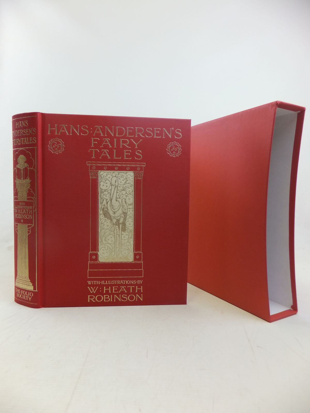 Photo of HANS ANDERSEN'S FAIRY TALES written by Andersen, Hans Christian illustrated by Robinson, W. Heath published by Folio Society (STOCK CODE: 2116781)  for sale by Stella & Rose's Books