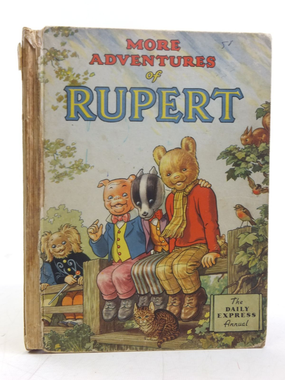 Photo of RUPERT ANNUAL 1953 - MORE ADVENTURES OF RUPERT written by Bestall, Alfred illustrated by Bestall, Alfred published by Daily Express (STOCK CODE: 2116830)  for sale by Stella & Rose's Books