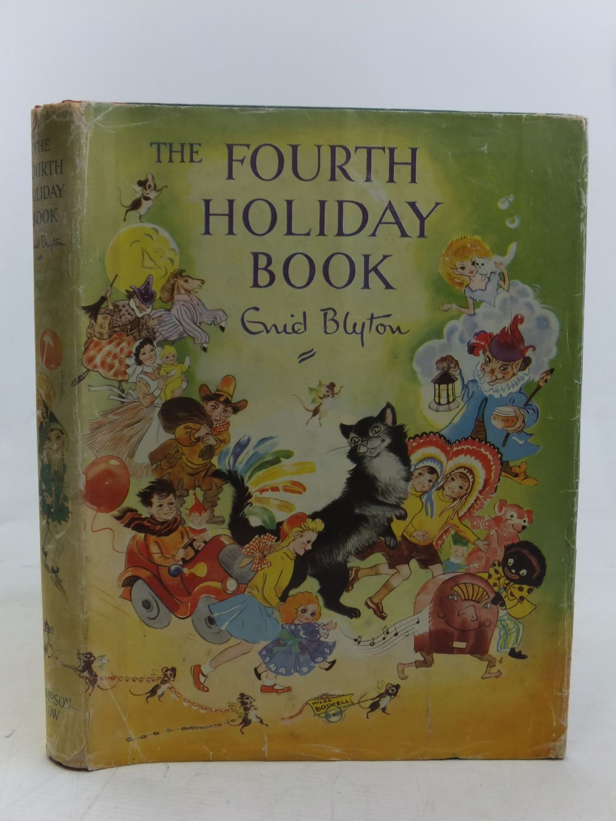Photo of THE FOURTH HOLIDAY BOOK written by Blyton, Enid illustrated by Boswell, Hilda<br />et al.,  published by Sampson Low, Marston & Co. Ltd. (STOCK CODE: 2116831)  for sale by Stella & Rose's Books