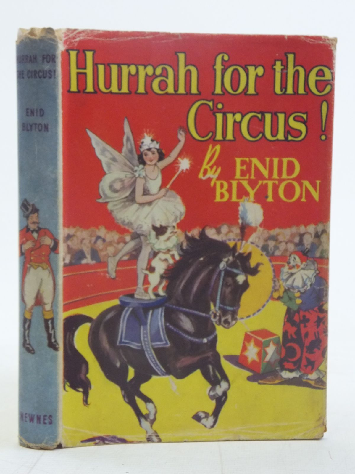 Photo of HURRAH FOR THE CIRCUS! written by Blyton, Enid illustrated by Davie, E.H. published by George Newnes Ltd. (STOCK CODE: 2116873)  for sale by Stella & Rose's Books