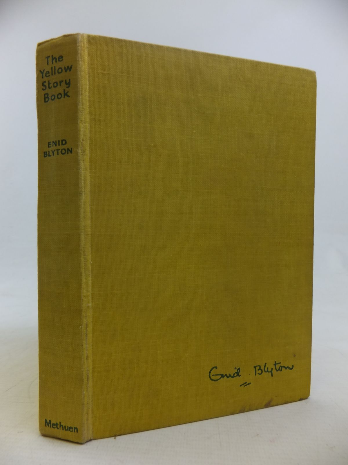 Photo of THE YELLOW STORY BOOK written by Blyton, Enid illustrated by Gell, Kathleen published by Methuen & Co. Ltd. (STOCK CODE: 2116885)  for sale by Stella & Rose's Books