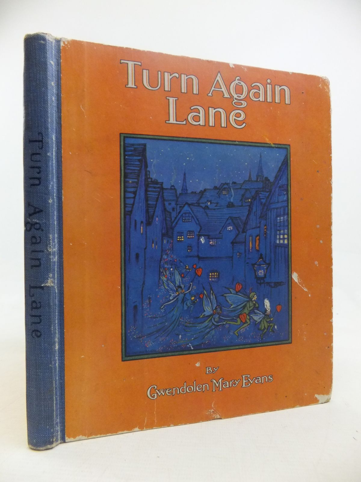 Photo of TURN AGAIN LANE written by Evans, Gwendolen Mary illustrated by Evans, Gwendolen Mary published by Frederick Warne & Co Ltd. (STOCK CODE: 2116890)  for sale by Stella & Rose's Books
