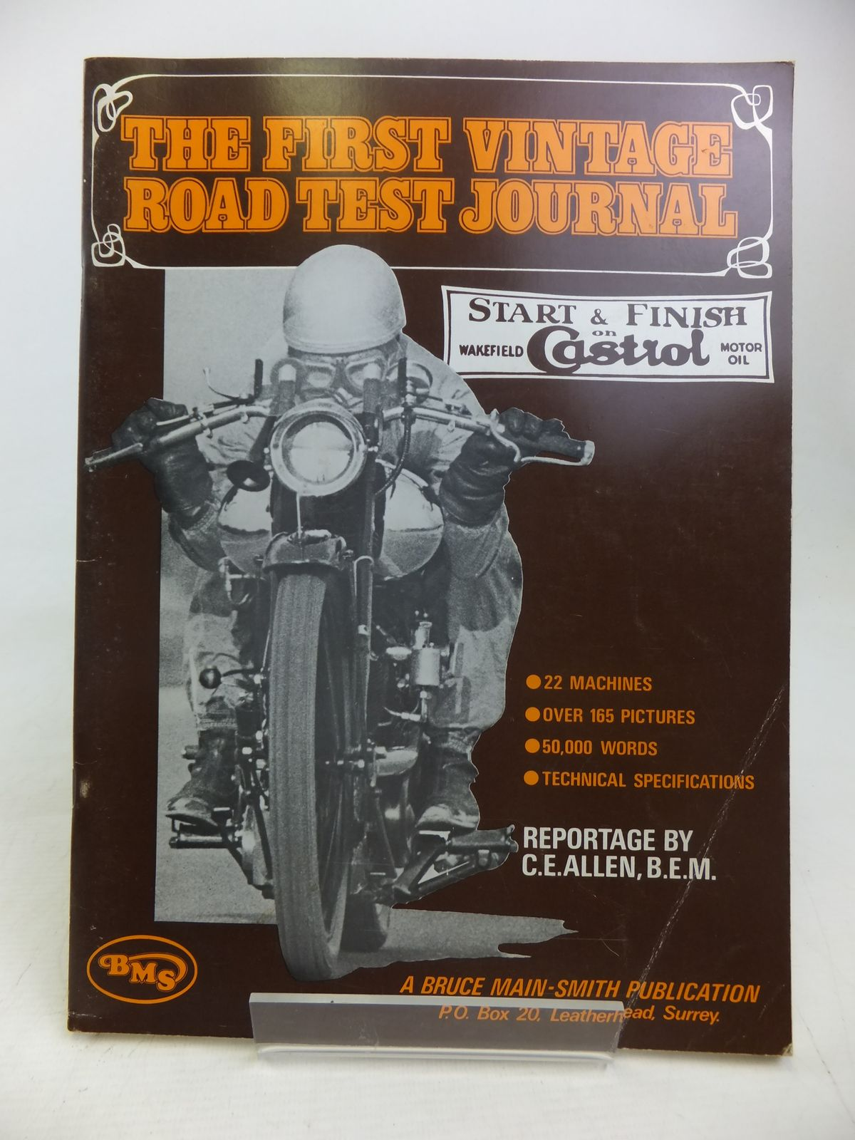 Photo of THE FIRST VINTAGE ROAD TEST JOURNAL written by Allen, C.E. published by Bruce Main-Smith & Co. Ltd. (STOCK CODE: 2116998)  for sale by Stella & Rose's Books