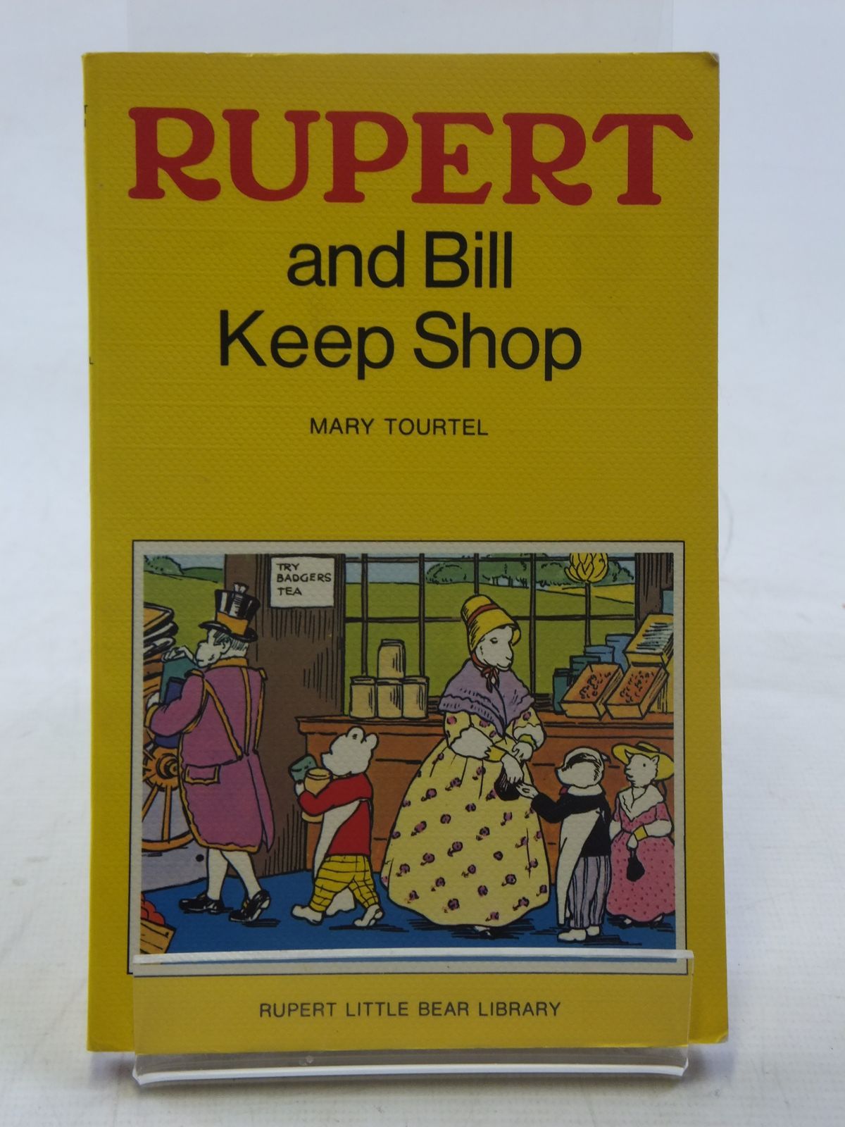 Photo of RUPERT AND BILL KEEP SHOP - RUPERT LITTLE BEAR LIBRARY No. 14 (WOOLWORTH) written by Tourtel, Mary illustrated by Tourtel, Mary published by Sampson Low, Marston & Co. Ltd. (STOCK CODE: 2117143)  for sale by Stella & Rose's Books