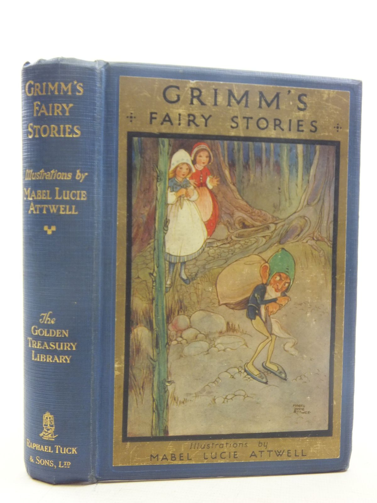Photo of GRIMM'S FAIRY STORIES written by Grimm, Brothers<br />Vredenburg, Edric illustrated by Attwell, Mabel Lucie published by Raphael Tuck & Sons Ltd. (STOCK CODE: 2117225)  for sale by Stella & Rose's Books