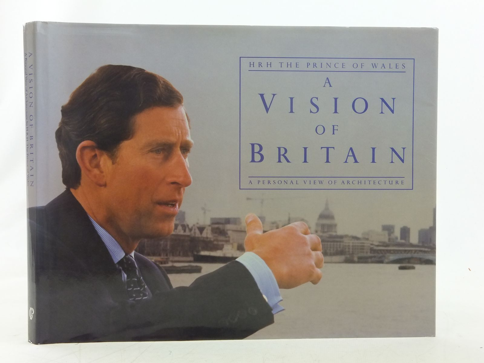 Photo of A VISION OF BRITAIN written by Wales, H.R.H. The Prince of published by Guild Publishing (STOCK CODE: 2117270)  for sale by Stella & Rose's Books