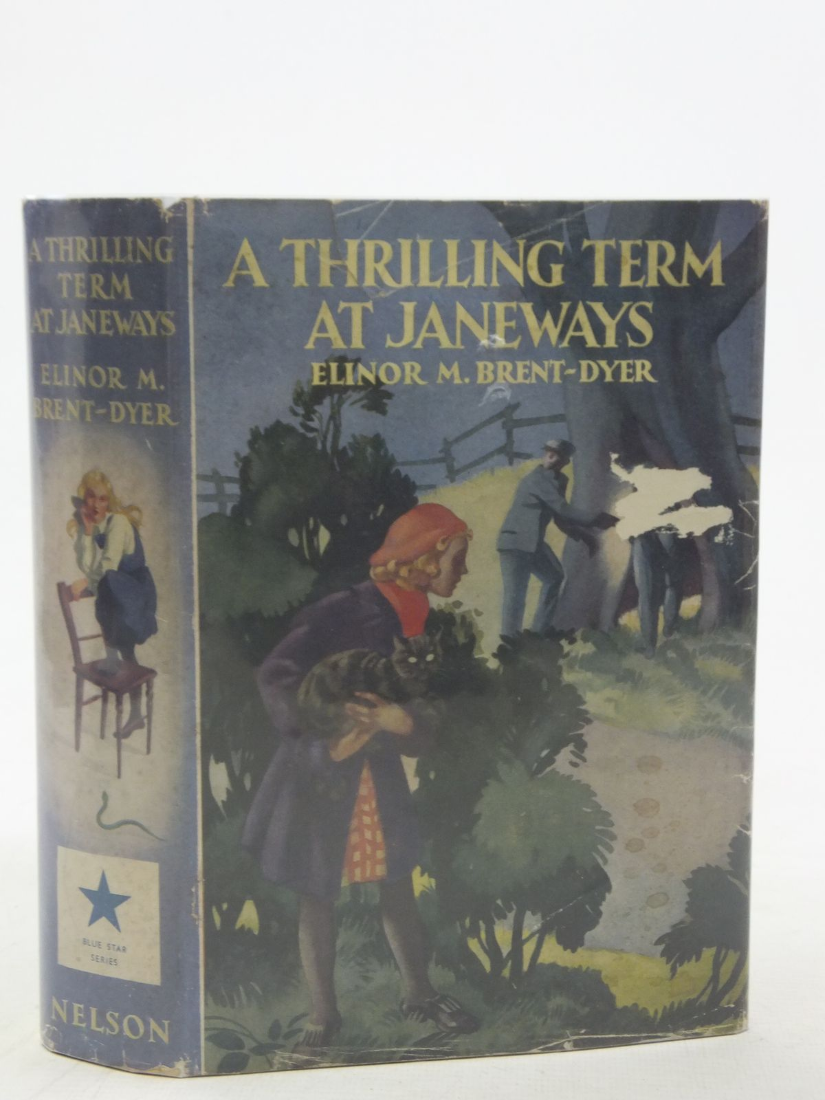 Photo of A THRILLING TERM AT JANEWAYS written by Brent-Dyer, Elinor M. illustrated by Anderson, Florence Mary published by Thomas Nelson and Sons Ltd. (STOCK CODE: 2117289)  for sale by Stella & Rose's Books