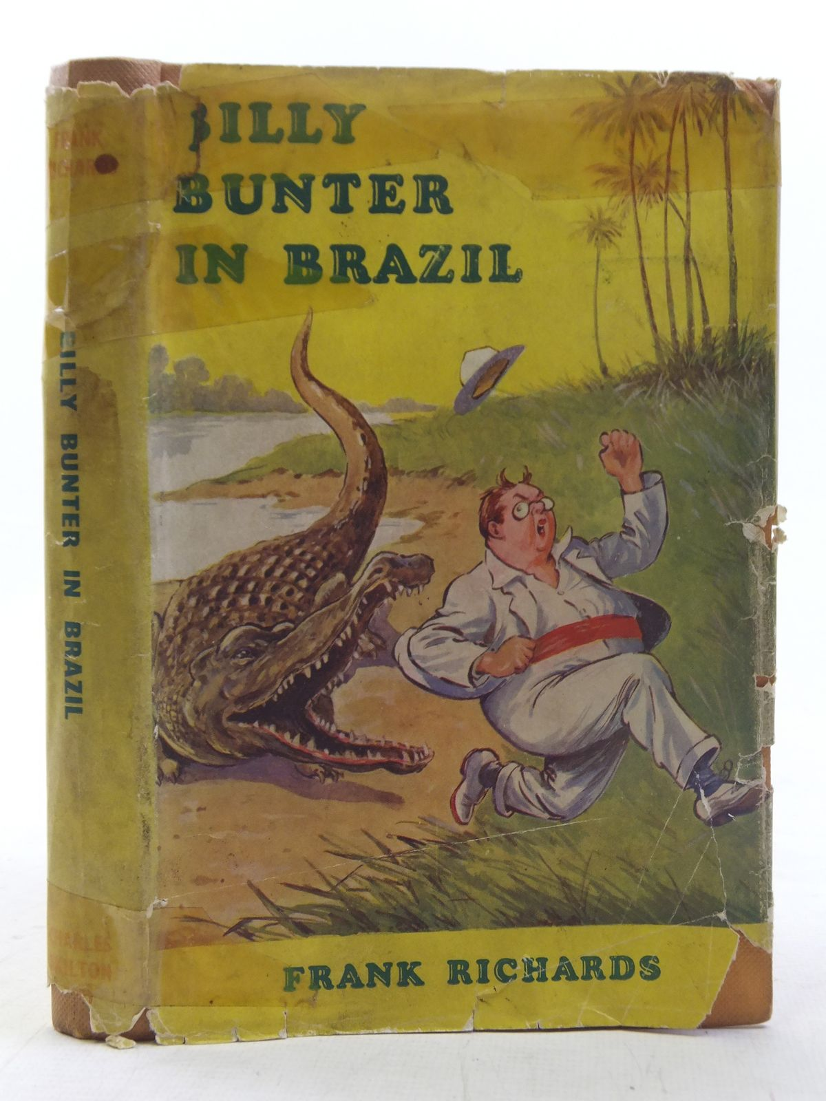 Photo of BILLY BUNTER IN BRAZIL written by Richards, Frank illustrated by Macdonald, R.J. published by Charles Skilton Ltd. (STOCK CODE: 2117519)  for sale by Stella & Rose's Books