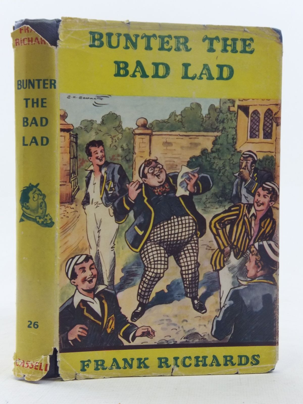 Photo of BUNTER THE BAD LAD written by Richards, Frank illustrated by Chapman, C.H. published by Cassell (STOCK CODE: 2117533)  for sale by Stella & Rose's Books