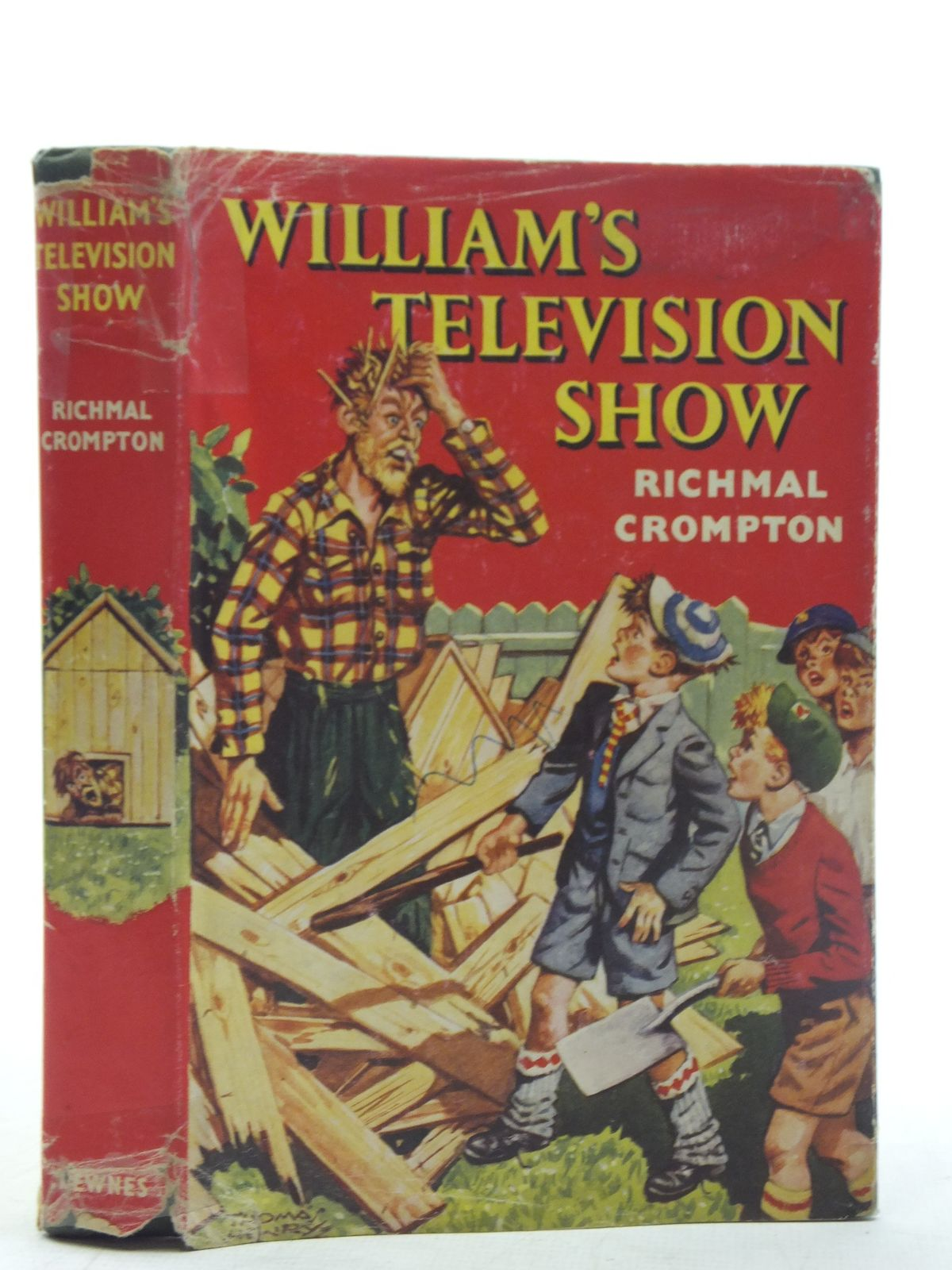 Photo of WILLIAM'S TELEVISION SHOW written by Crompton, Richmal illustrated by Henry, Thomas published by George Newnes Limited (STOCK CODE: 2117557)  for sale by Stella & Rose's Books