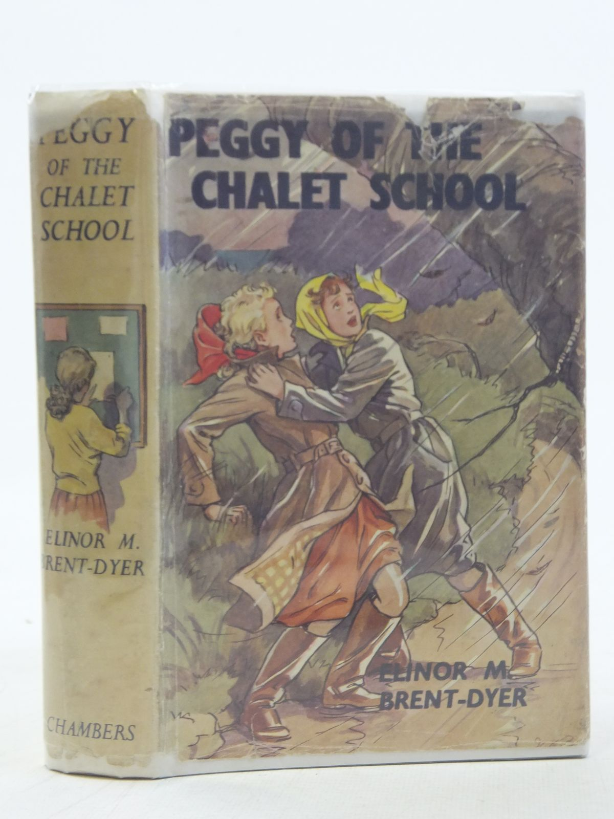 Photo of PEGGY OF THE CHALET SCHOOL written by Brent-Dyer, Elinor M. illustrated by Brisley, Nina K. published by W. & R. Chambers Limited (STOCK CODE: 2117697)  for sale by Stella & Rose's Books