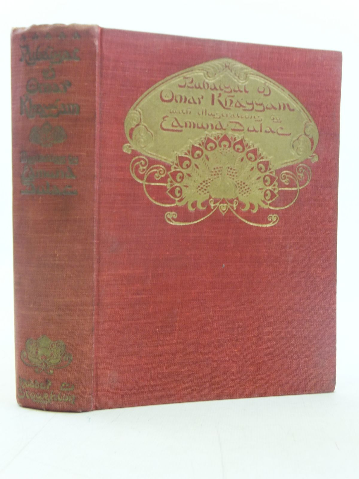 Photo of RUBAIYAT OF OMAR KHAYYAM written by Fitzgerald, Edward illustrated by Dulac, Edmund published by Hodder & Stoughton (STOCK CODE: 2117698)  for sale by Stella & Rose's Books