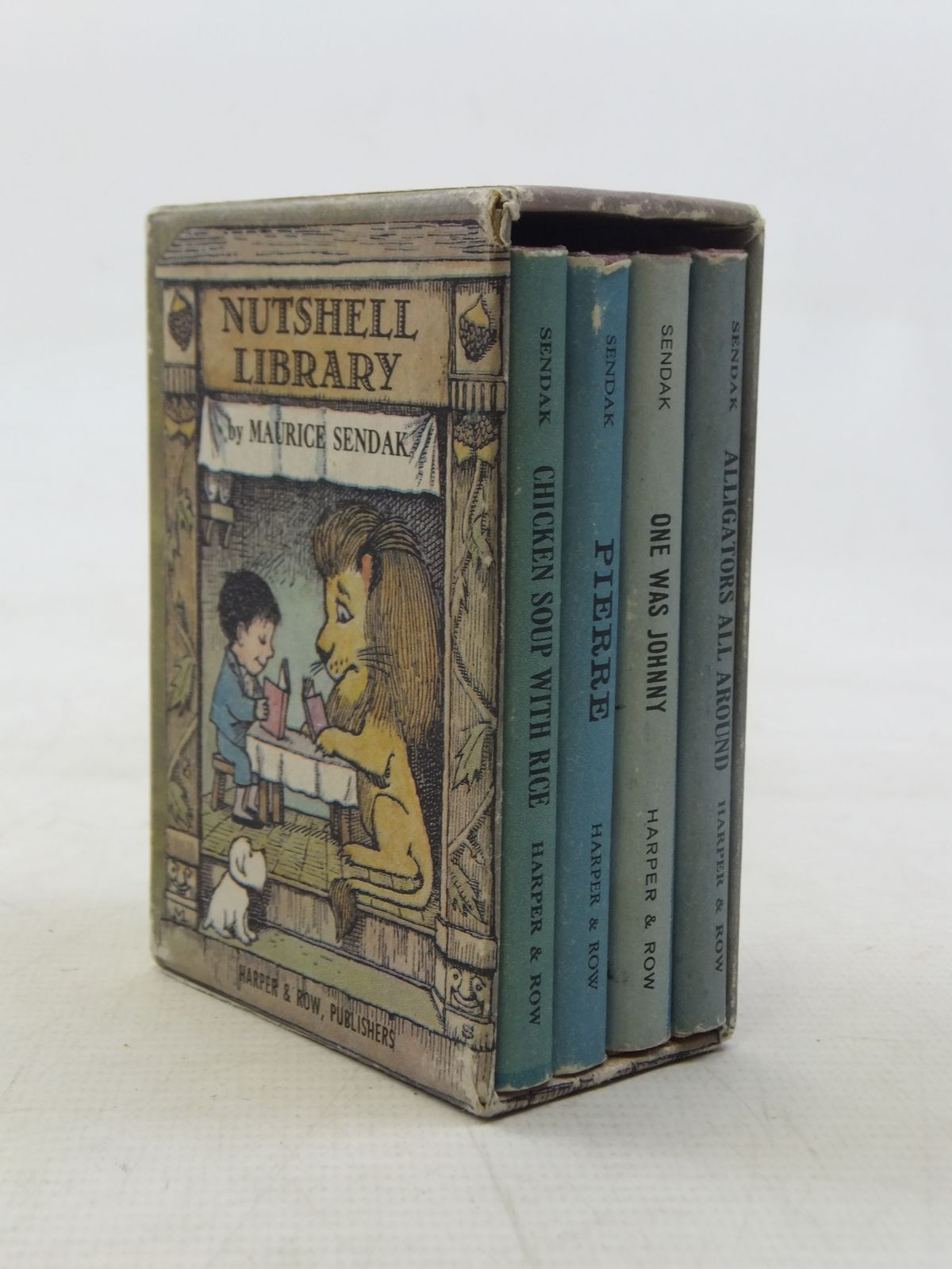 Photo of NUTSHELL LIBRARY written by Sendak, Maurice illustrated by Sendak, Maurice published by Harper & Row (STOCK CODE: 2117700)  for sale by Stella & Rose's Books