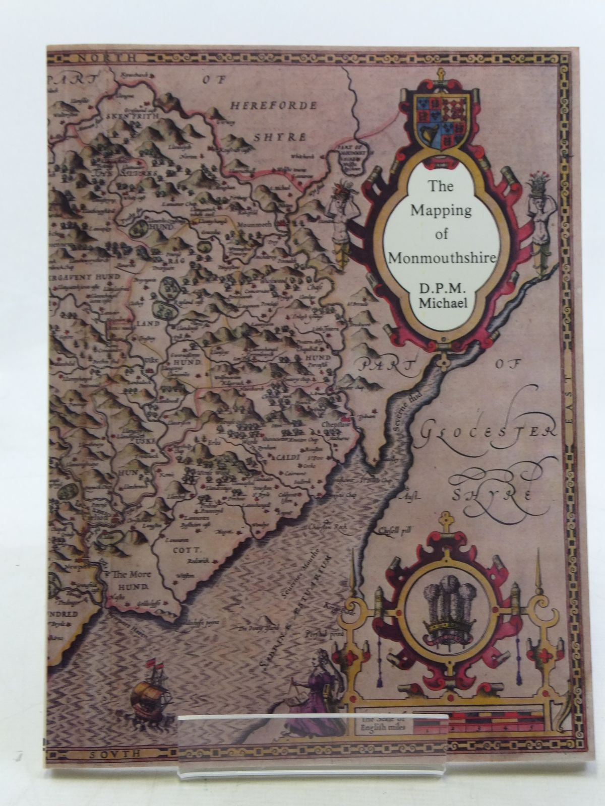 Photo of THE MAPPING OF MONMOUTHSHIRE written by Michael, D.P.M. published by Regional Publications (STOCK CODE: 2117926)  for sale by Stella & Rose's Books