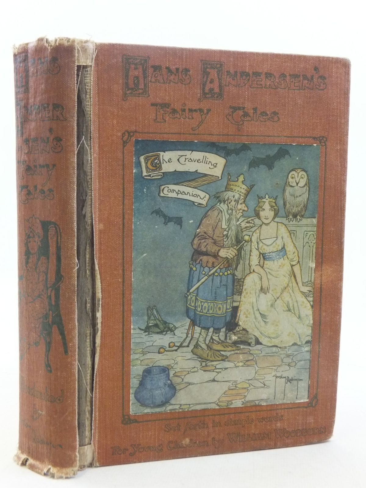 Photo of HANS ANDERSEN'S FAIRY TALES written by Andersen, Hans Christian<br />Woodburn, William illustrated by Robinson, Gordon published by W. & R. Chambers Limited (STOCK CODE: 2117956)  for sale by Stella & Rose's Books