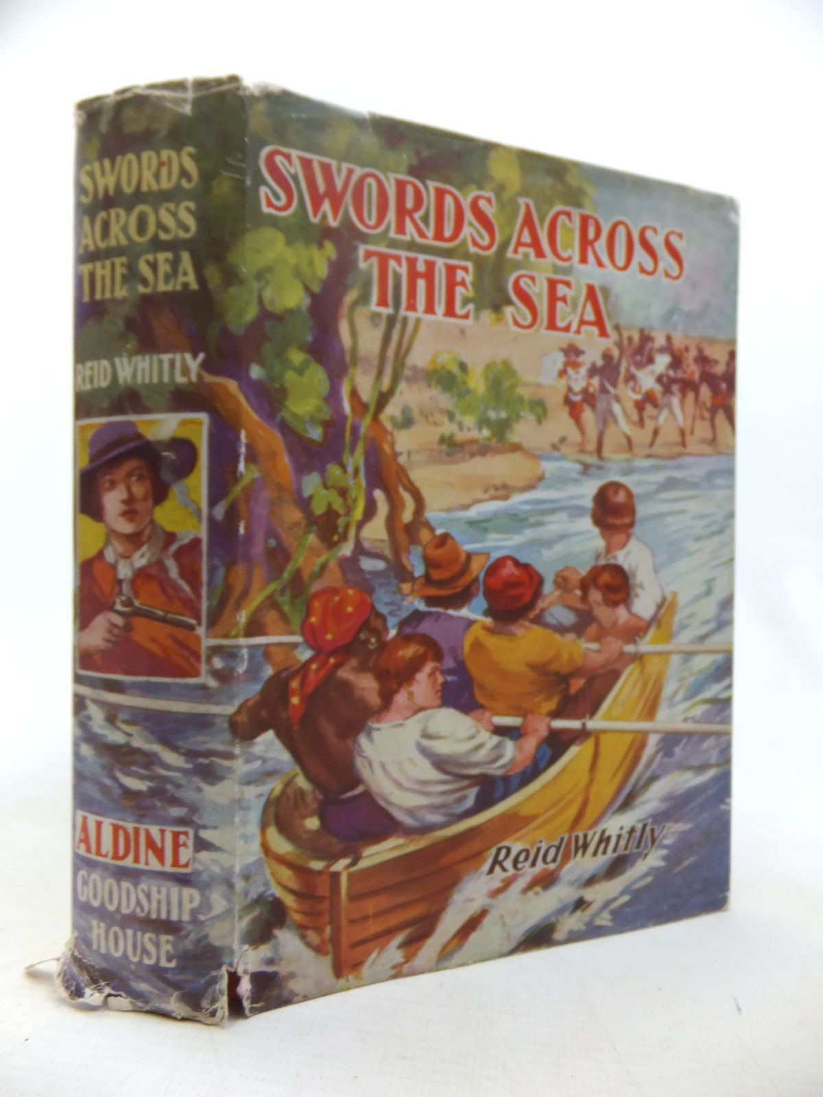 Photo of SWORDS ACROSS THE SEA written by Whitly, Reid published by Aldine Publishing Company (STOCK CODE: 2118039)  for sale by Stella & Rose's Books
