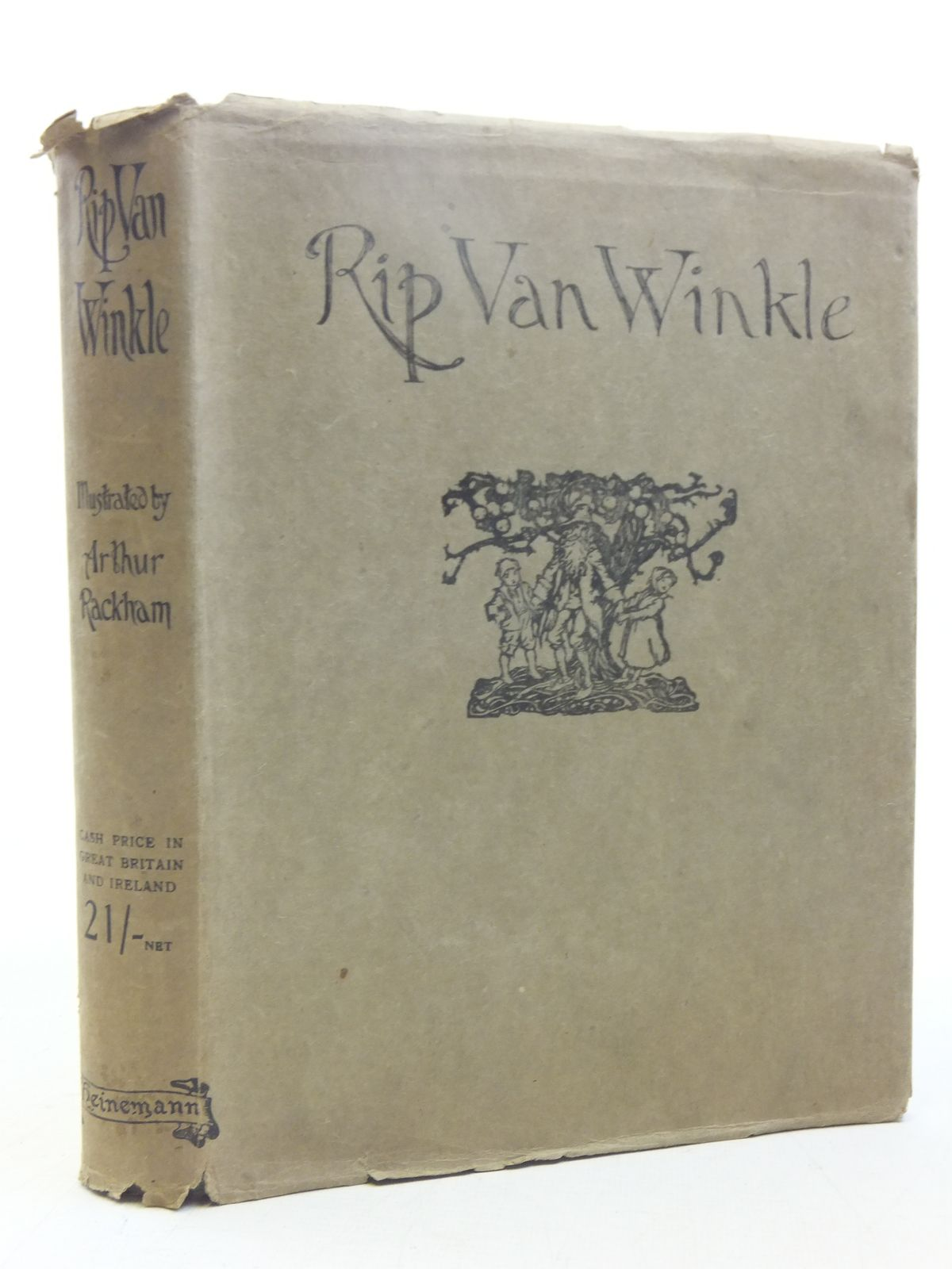 Photo of RIP VAN WINKLE written by Irving, Washington illustrated by Rackham, Arthur published by William Heinemann (STOCK CODE: 2118108)  for sale by Stella & Rose's Books