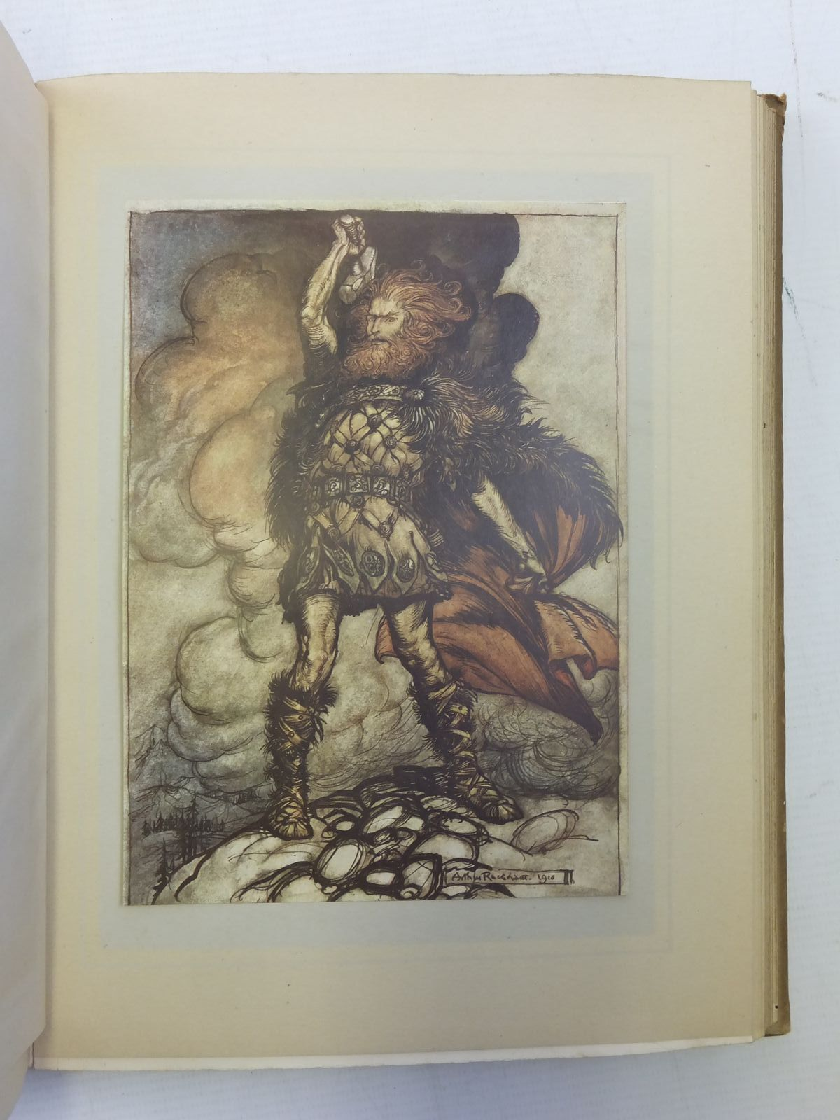 Photo of THE RHINEGOLD & THE VALKYRIE written by Wagner, Richard<br />Armour, Margaret illustrated by Rackham, Arthur published by William Heinemann (STOCK CODE: 2118149)  for sale by Stella & Rose's Books