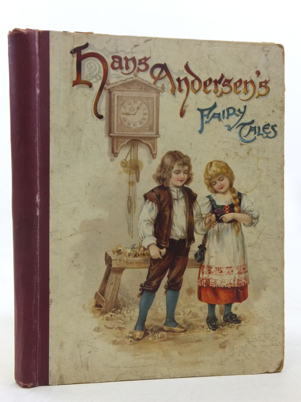 Photo of HANS ANDERSEN'S FAIRY TALES written by Andersen, Hans Christian illustrated by Andrews, E.J.<br />Jacobs, S. published by Raphael Tuck & Sons Ltd. (STOCK CODE: 2118168)  for sale by Stella & Rose's Books