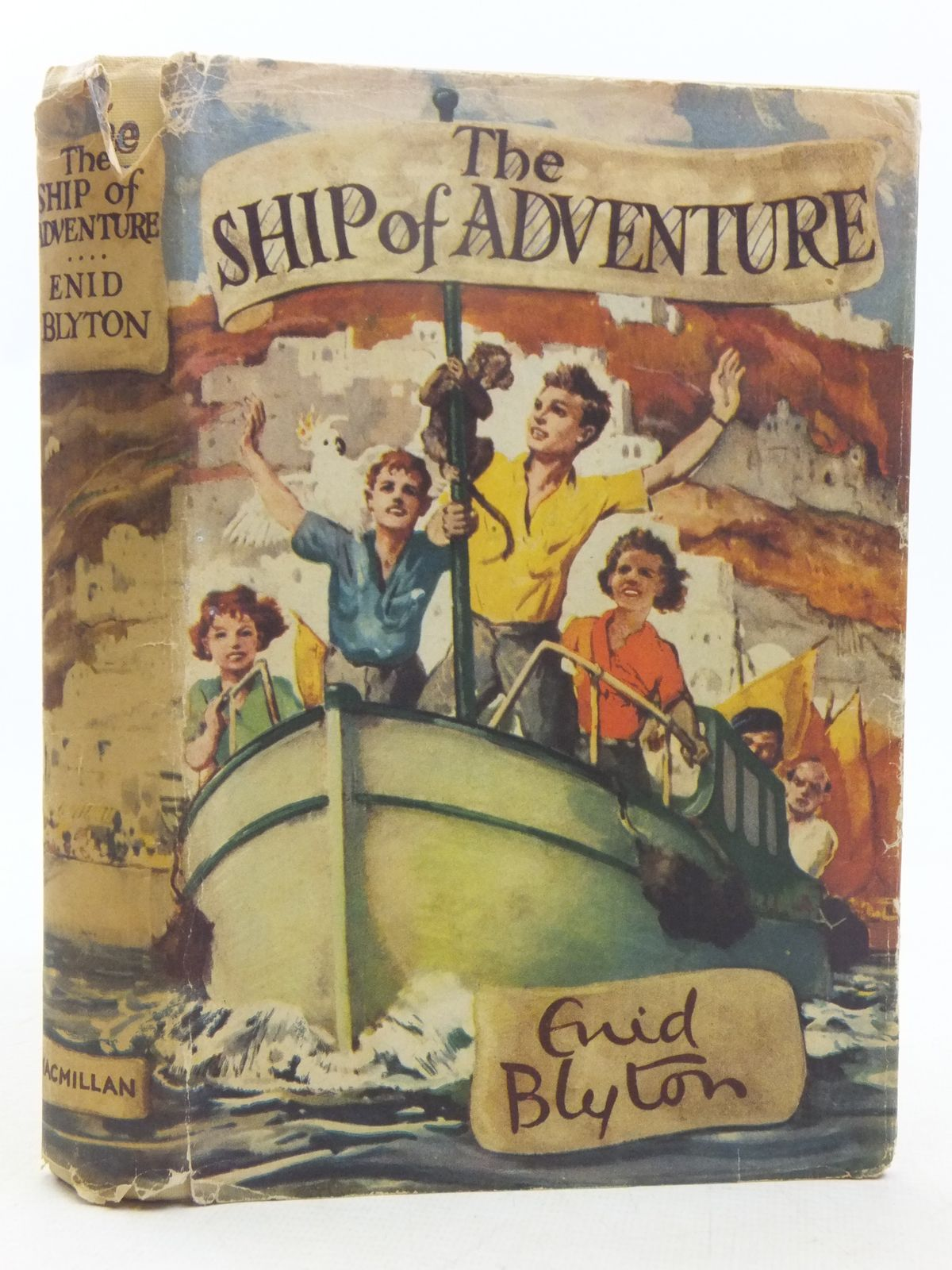 Photo of THE SHIP OF ADVENTURE written by Blyton, Enid illustrated by Tresilian, Stuart published by Macmillan & Co. Ltd. (STOCK CODE: 2118331)  for sale by Stella & Rose's Books