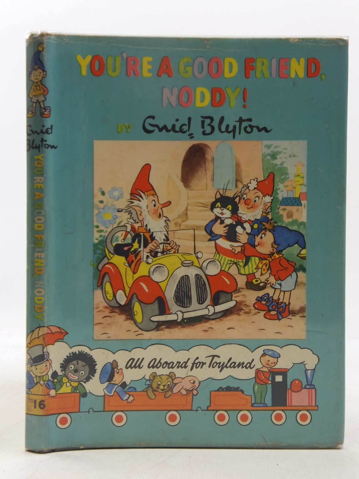 Photo of YOU'RE A GOOD FRIEND NODDY! written by Blyton, Enid illustrated by Lee, Robert<br />Tyndall, Robert published by Sampson Low, Marston & Co. Ltd., D.V. Publications Ltd. (STOCK CODE: 2118371)  for sale by Stella & Rose's Books