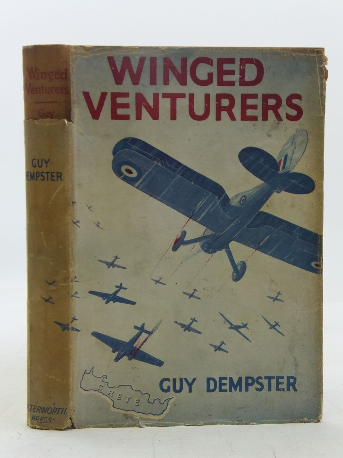 Photo of WINGED VENTURERS written by Dempster, Guy illustrated by Lumley, Savile published by Lutterworth Press (STOCK CODE: 2118379)  for sale by Stella & Rose's Books