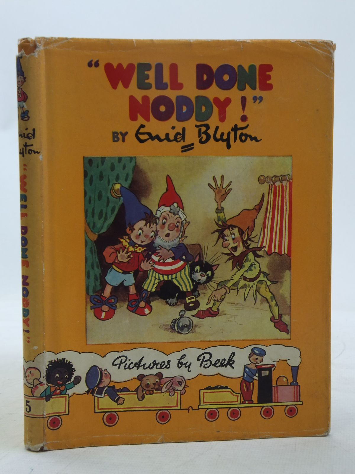 Photo of WELL DONE NODDY! written by Blyton, Enid illustrated by Beek,  published by Sampson Low, Marston & Co. Ltd. (STOCK CODE: 2118388)  for sale by Stella & Rose's Books