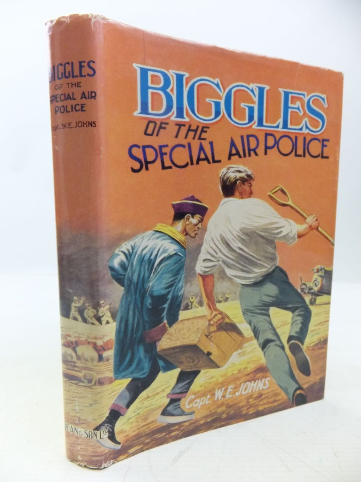 Photo of BIGGLES OF THE SPECIAL AIR POLICE written by Johns, W.E. published by Dean & Son Ltd. (STOCK CODE: 2118429)  for sale by Stella & Rose's Books