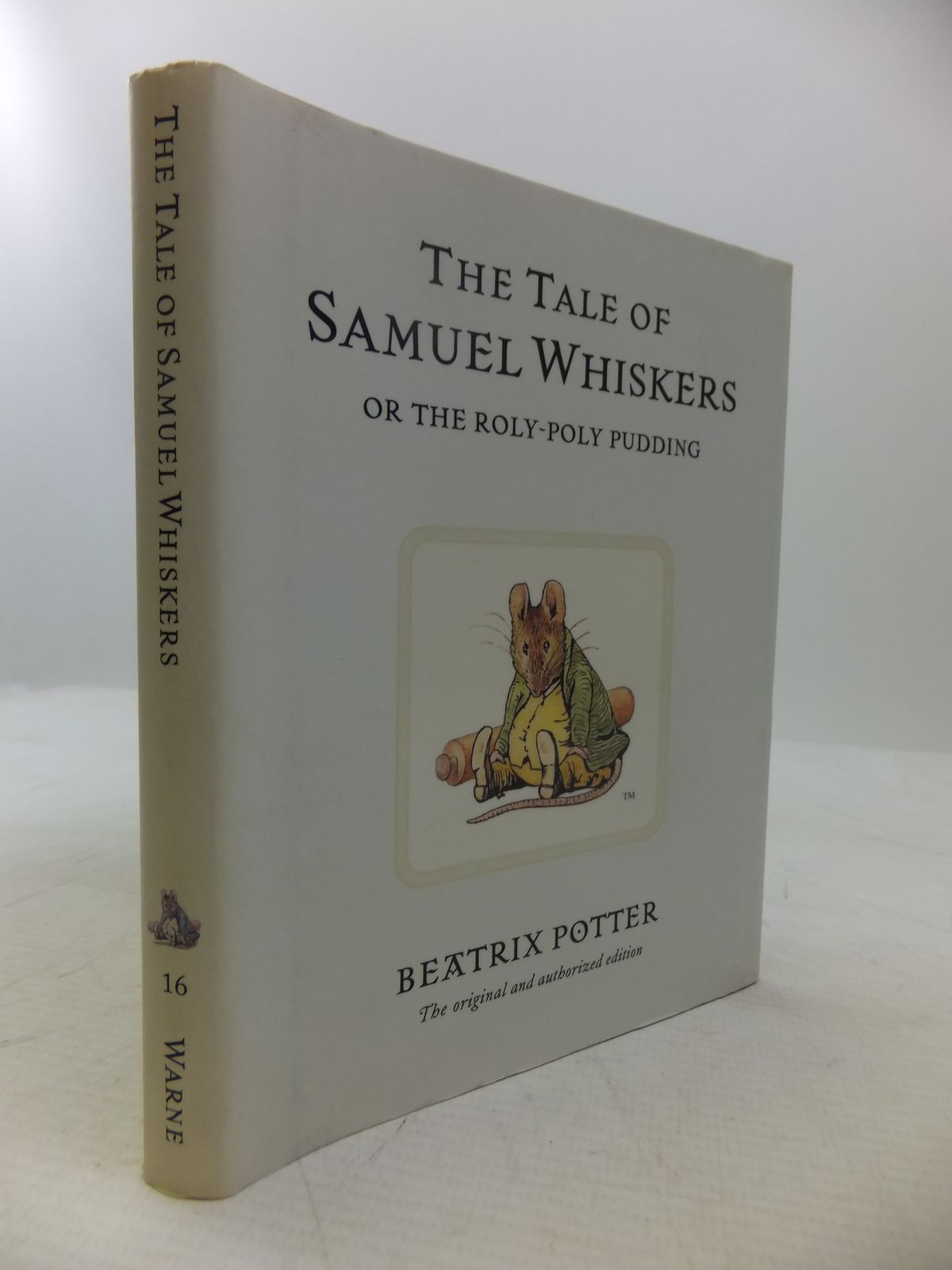 Photo of THE TALE OF SAMUEL WHISKERS OR THE ROLY-POLY PUDDING written by Potter, Beatrix illustrated by Potter, Beatrix published by Frederick Warne & Co Ltd. (STOCK CODE: 2118534)  for sale by Stella & Rose's Books