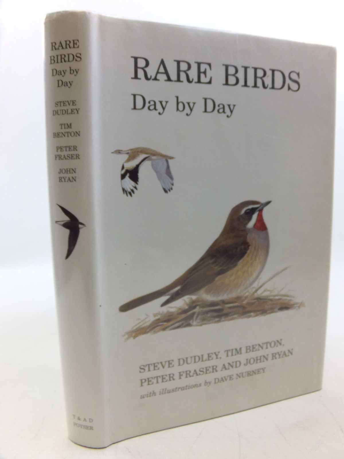 Photo of RARE BIRDS DAY BY DAY written by Dudley, Steve<br />Benton, Tim<br />Fraser, Peter<br />Ryan, John illustrated by Nurney, Dave published by T. & A.D. Poyser (STOCK CODE: 2118567)  for sale by Stella & Rose's Books